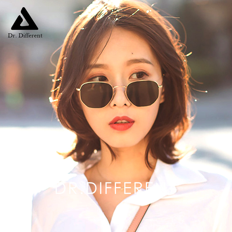 2018新款太阳镜明星款方形框小脸复古近视眼镜D3548潮人女士墨镜