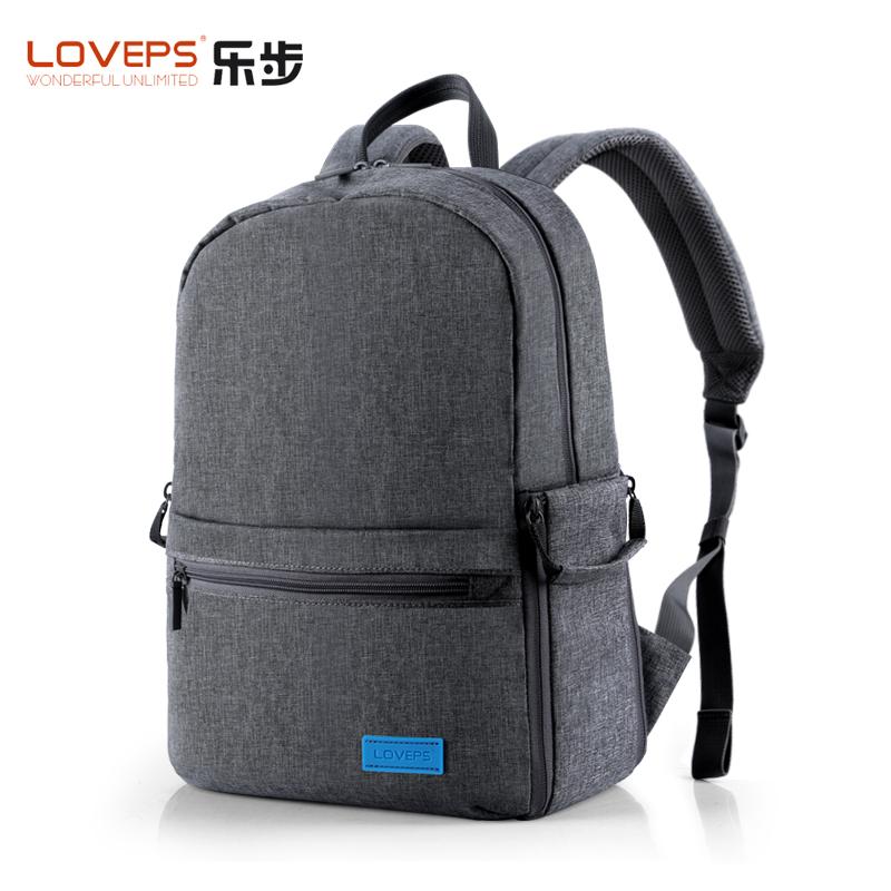 LOVEPS双肩单反相机包摄影包双肩防水背包微单包旅行防水大容量女