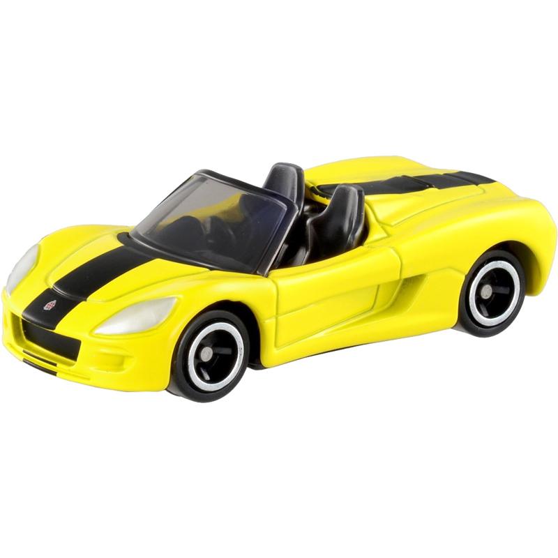 日本TOMY多美卡合金小汽车模型男孩玩具106号电动轿跑车ZZ-801337