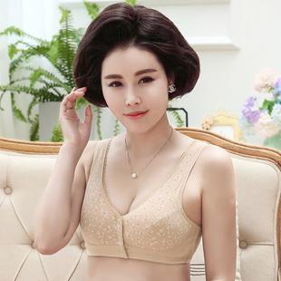中老年妈妈纯棉无钢圈内衣文胸胸罩