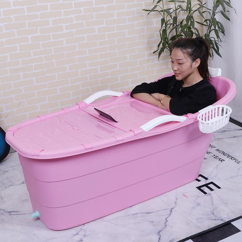 佳林两款加长洗澡桶成人 塑料澡盆泡澡桶家用浴桶浴盆 可夫妻共浴