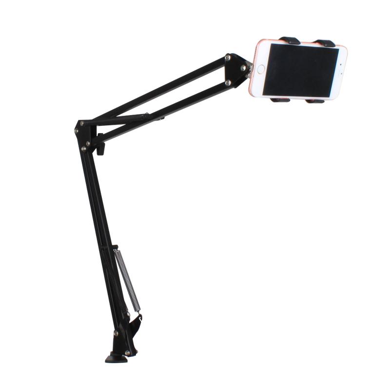 懒人支架床头手机架手机桌面平板电脑ipad架子通用看电影神器夹子直播pad手机支懒人架多功能万能支驾支撑架