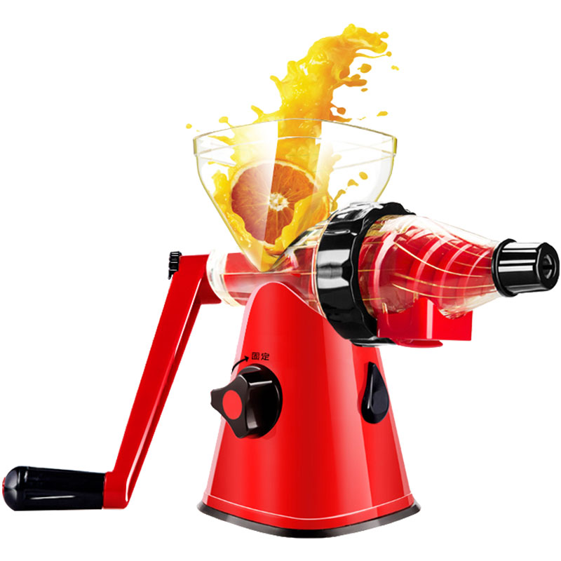 手动榨汁机迷你便携小型亚洲AG集团扎水果柠檬原汁手摇石榴简易炸果汁机
