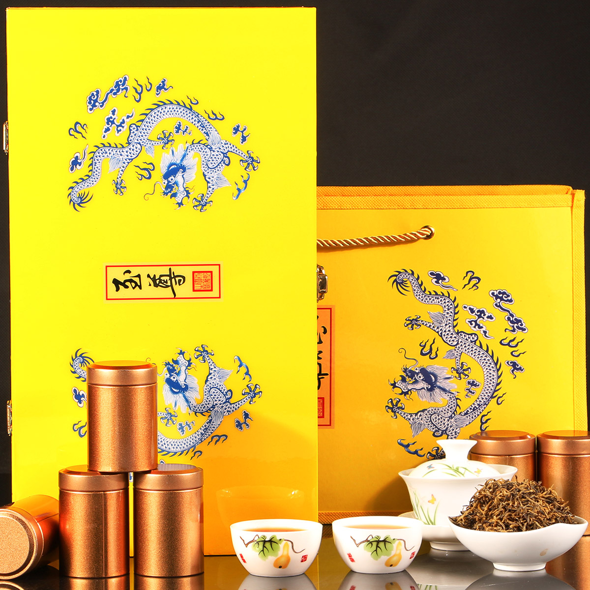 2019新茶上市武夷山金骏眉红茶罐装茶叶春茶礼盒装桐木关蜜香型