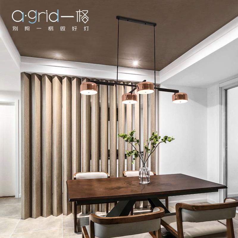 后现代旋转金属吊灯北欧简约创意个性客厅餐厅灯饰设计师餐吊灯具