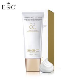 ESC氨基酸洗面奶温和洁面乳膏补水保湿深层清洁男女控油吸附黑头