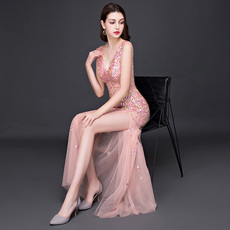 Evening dress Pink diamond 2017