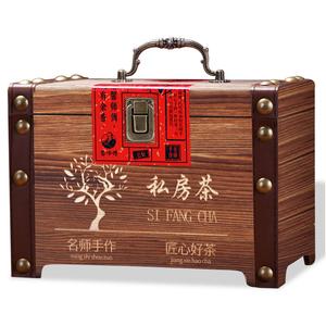 【金骏眉500g】正宗武夷山野生花果香金骏眉红茶茶叶实木礼盒装