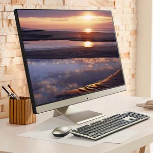 华硕V4000一体机台式品牌电脑i5高配全套家用商务办公学生高清教学会议设计IPS屏超薄双核27英寸游戏
