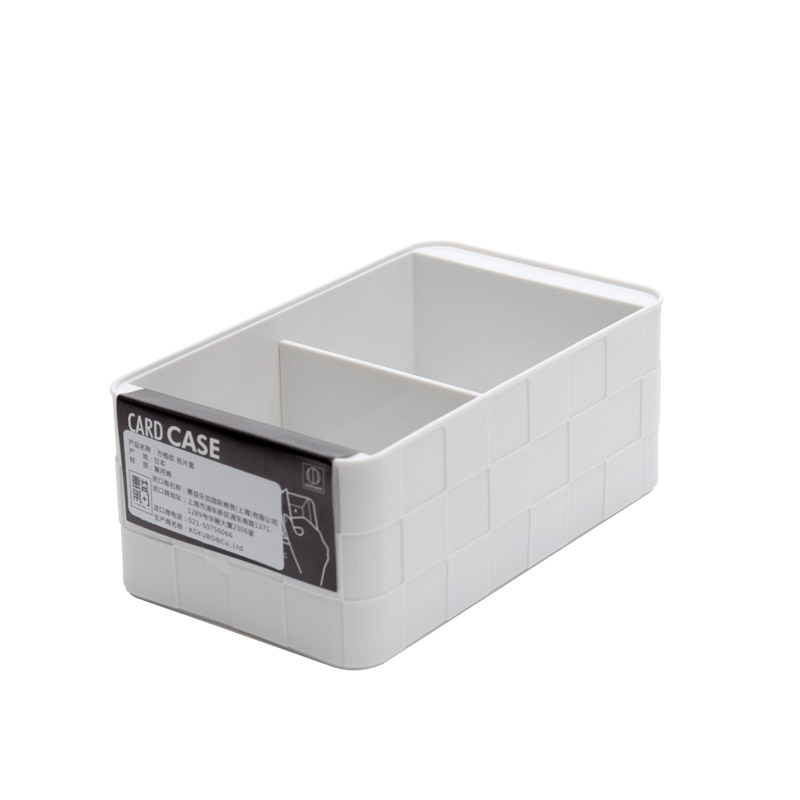 imports of creative desktop high-capacity card boxes plastic card ...
