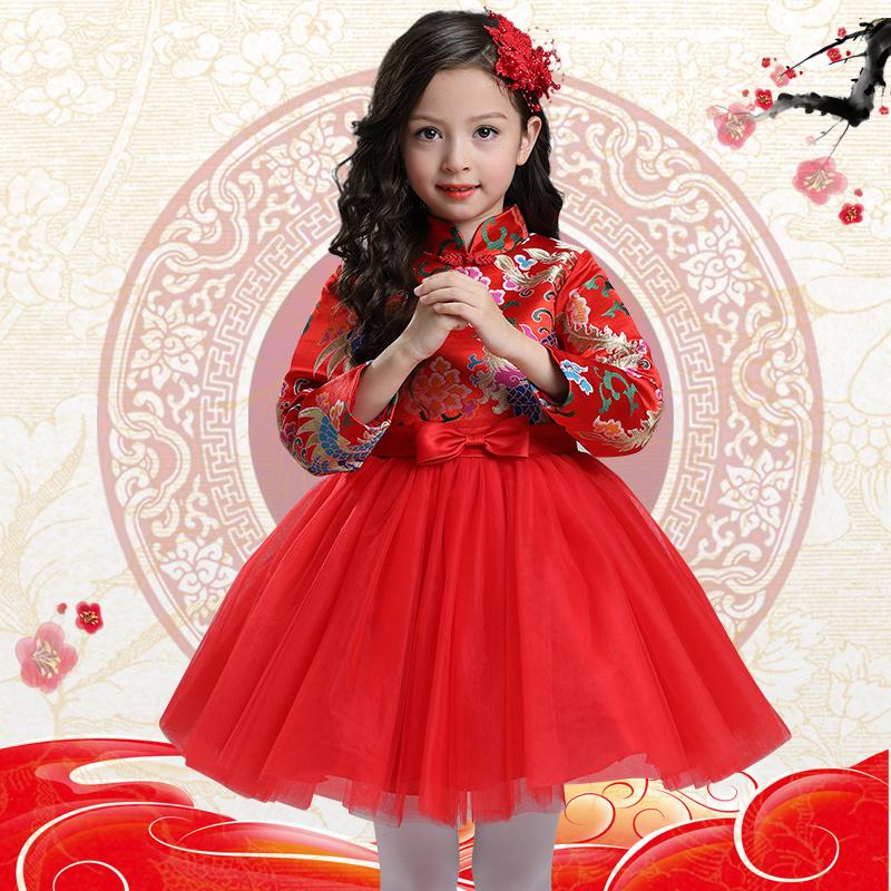 Baby cheongsam Di Yi Tong 8018 2017 Di Yi Tong