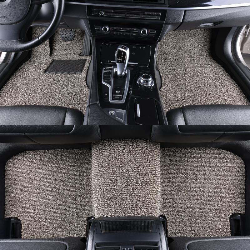 汽车丝圈脚垫易清洗专用卡罗拉新朗逸crv途观L哈弗h6迈途丝圈地毯