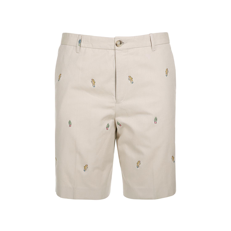 KENZO-高田贤三 新品男款纯棉梭织短裤 F755PA6001SE