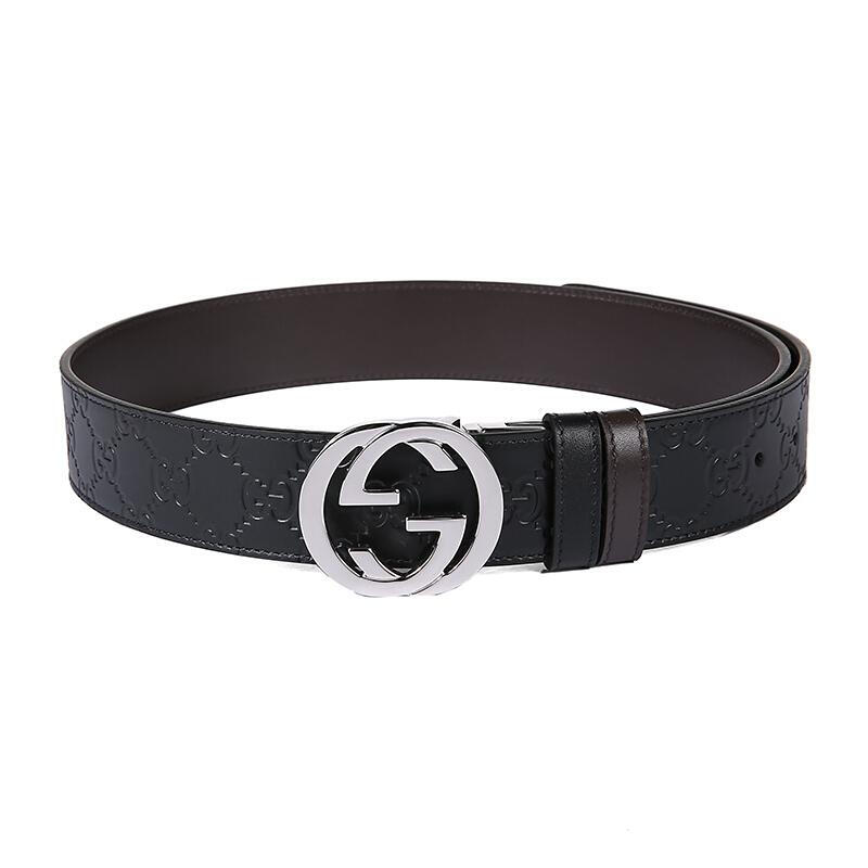 1ad9f5a9dcb ...  Double-sided  Gucci   Gucci Gucci New Belt Men s Double G Belt 473030