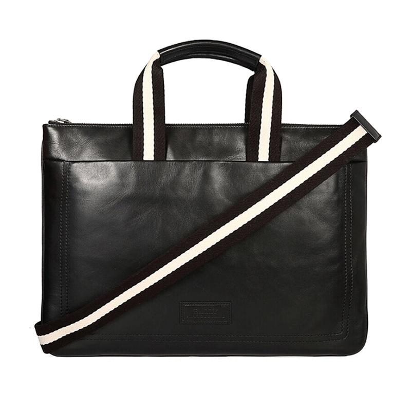 Bally-巴利经典款男士手提包单肩斜挎包电脑包TIGAN