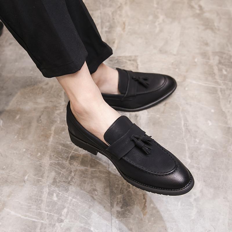 Men Fashion Leather Shoes Man Business Formal Shoes 512421