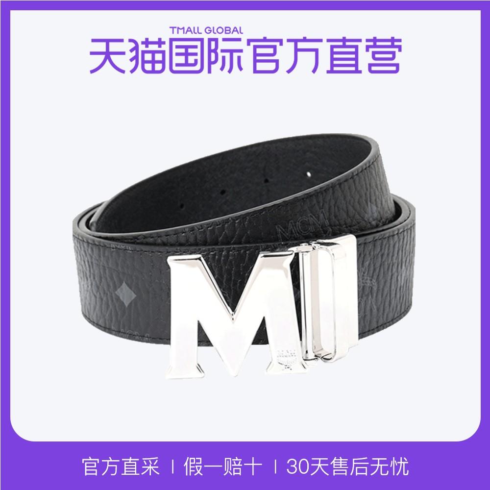 MCM 中性VISETOS单一尺寸双面腰带MXB6AVI03