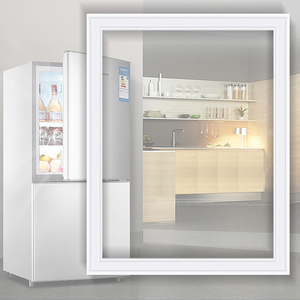 冰箱门密封条密封圈磁性海尔新飞美菱容声家用磁条胶圈条通用胶条