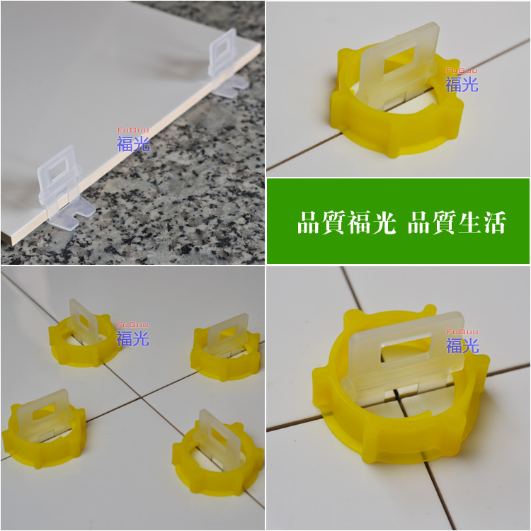 Ceramic tile leveling clips