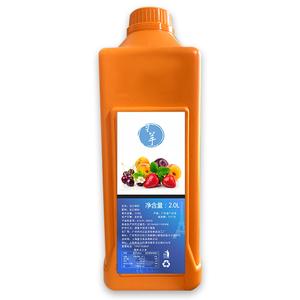 奶茶店专用2L浓缩商用饮料浓浆芒果金桔柠