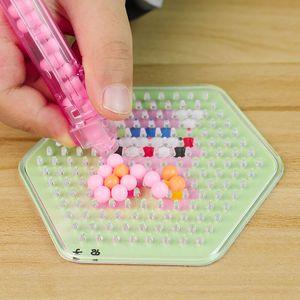 水雾神奇魔法珠儿童创意制作手工diy女孩玩具水露魔珠拼豆套装