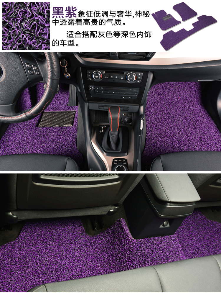 汽车脚垫丝圈 海马新老普力马 丘比特 马自达3星骋 马六6睿翼专用高清图片