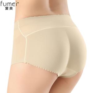 夏季中腰翘臀裤臀垫假屁股性感提臀内裤女薄款无痕隐形美臀塑身裤