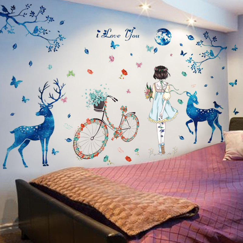 Wall Stickers Wallpaper Self Adhesive Warm Wall Painting