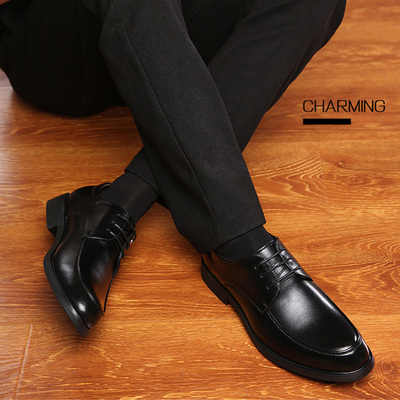 Men Fashion Leather Shoes Man Business Formal Shoes 196511