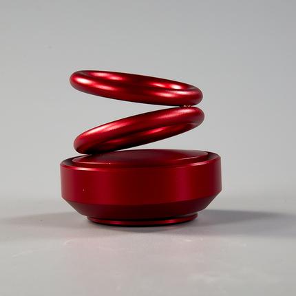 【重大让利】双环旋转香熏摆件 拍2送1 拍3送2 送的颜色随机