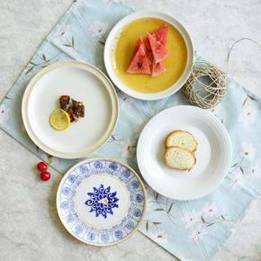 日式陶瓷餐具盘子创意菜盘早餐盘