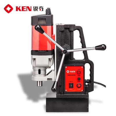 ken锐奇磁座钻6023N-6032-6049N多功能磁力吸铁电钻220V小型台钻