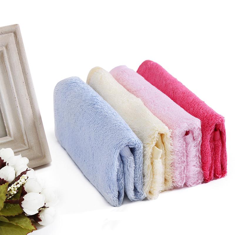 不易沾油洗碗巾厨房抹布家务清洁吸水不掉毛加厚竹纤维洗碗布方巾