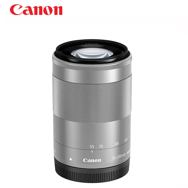Canon-佳能EFM 55-200MM IS STM 微单M3 M5 M6 M50 M100 长焦变焦远摄镜头