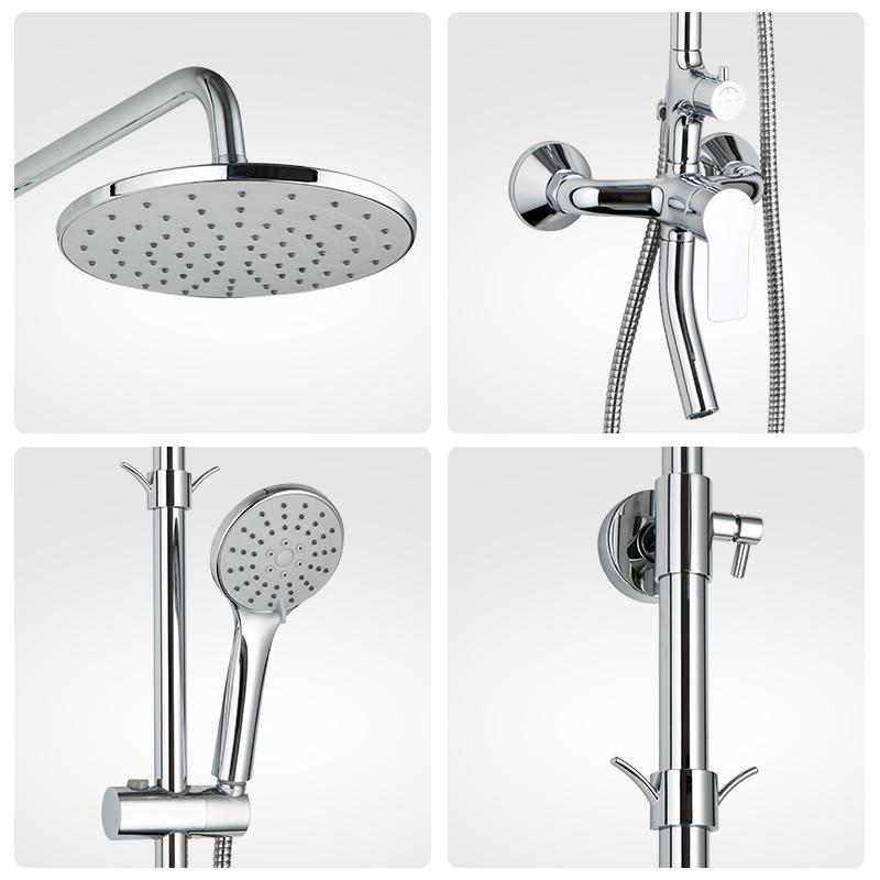 ARROW 箭牌卫浴淋浴花洒全铜冷热龙头淋浴器家用空气能增压款花洒