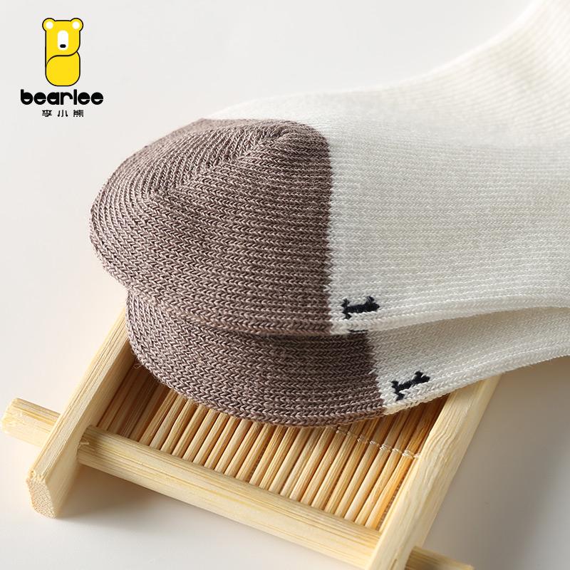 新生儿袜子秋冬宝宝棉袜婴儿松口袜男童女童短袜儿童无骨棉袜产品展示图4