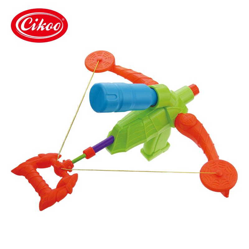 弓箭水枪儿童玩具抽拉式压力男孩小孩夏天沙滩戏水呲水喷水玩具