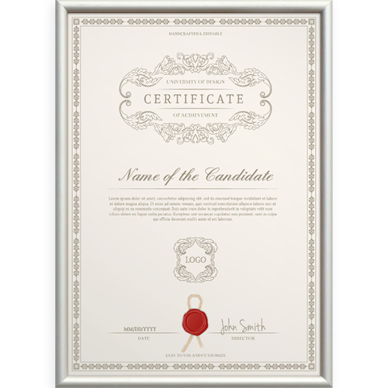 Business license frame wall three-in-one a3 certificate box ...