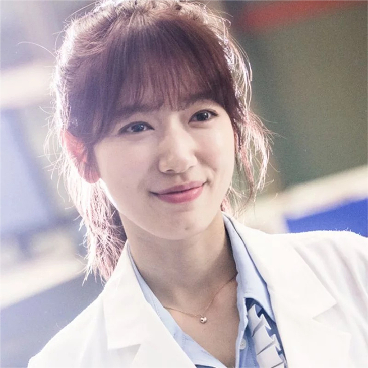 Doctor Park Shin Hye With The Lucky Sterling Silver Clavicle