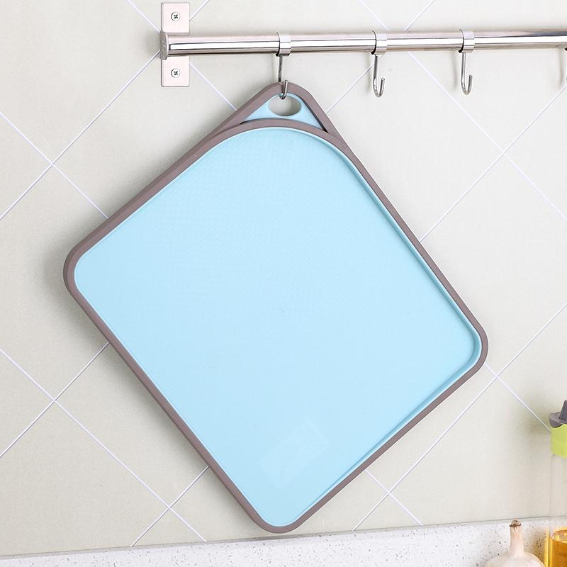 美厨粘板塑料砧板食品级pp菜板小砧板切水果厨房砧板家用双面防滑