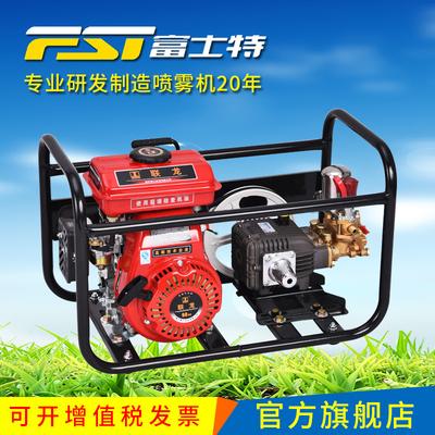 富士特FST-21K担架式稻田农药汽油打药机 农用机动高压喷雾器