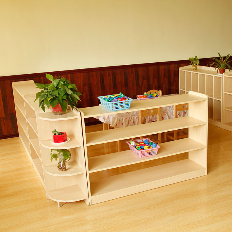 Kindergarten Cabinet Childrenu0027s Toys Storage Shelf Shoe Cabinet Storage  Cabinet Combination Corner Bookcase Cabinet Montessori Teaching