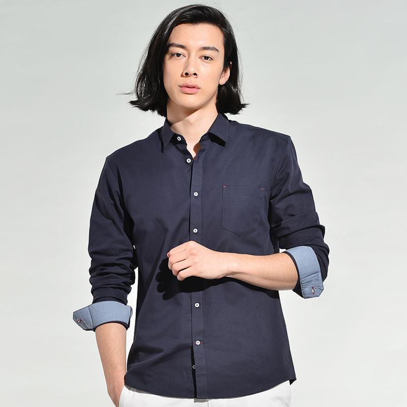 补券,白菜价!100%长绒棉:VSTARRY 男士 长袖衬衣