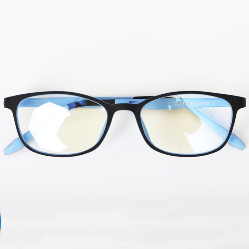 防辐射蓝光眼镜女儿童看电脑游戏手机保护眼睛平光小孩护目镜学生