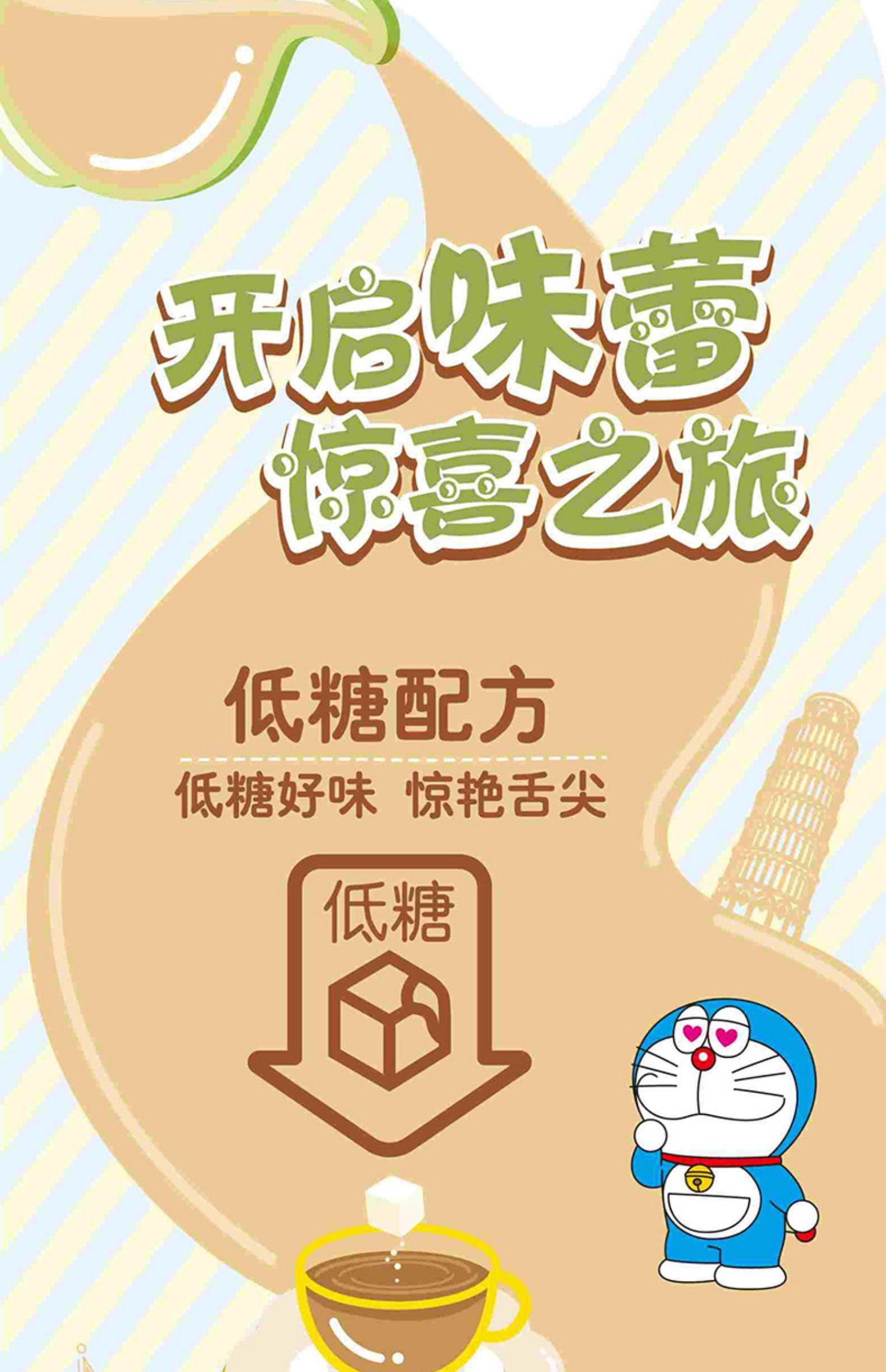 立顿奶茶哆啦A梦联名冲饮奶茶粉6盒