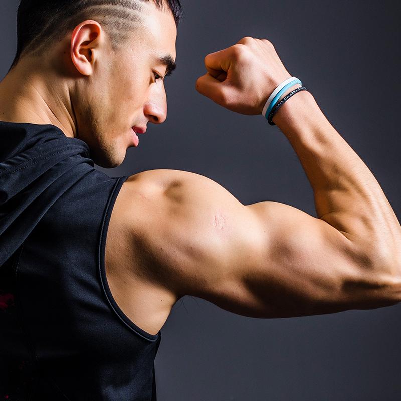 lifeontrack篮球手环运动能量手环硅胶手环男女潮牌欧美健身手带