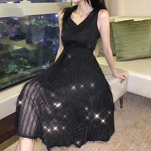 实拍新款气质显瘦连衣裙6169
