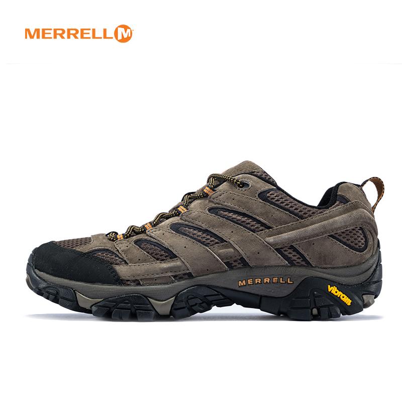 MERRELL 迈乐 男鞋 户外 MOAB2轻装徒步鞋 耐磨防滑登山鞋 J06011