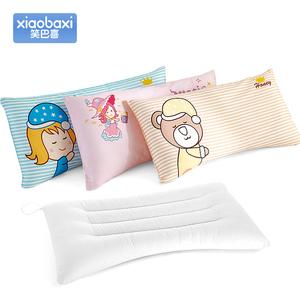 笑巴喜儿童枕头0-3-6岁幼儿园纯棉决明子宝宝枕头小学生四季通用