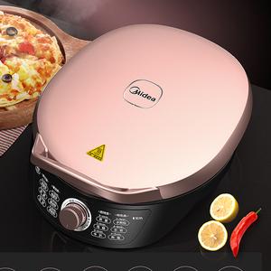 美的电饼铛档双面加热煎烙饼机正品家用锅烧烤机自动加深煎烤煎饼